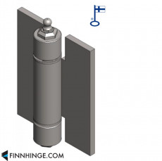 Tampereen-Erikoissarana 024 - Industrial hinge with ball bearing