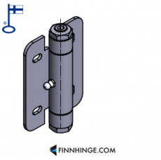 Tampereen-Erikoissarana 054 SST Industrial hinge with ball bearing 10