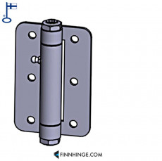 Tampereen-Erikoissarana 054 SST Industrial hinge with ball bearing 12