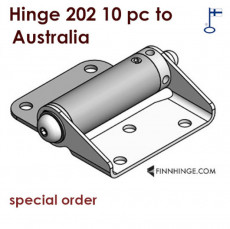 Tampereen-Erikoissarana 10 pc of hinge 202 delivered to Australia